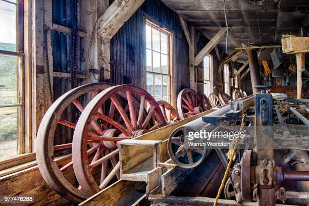 old abandoned mill, bodie, california, usa - weinstein stock pictures, royalty-free photos & images