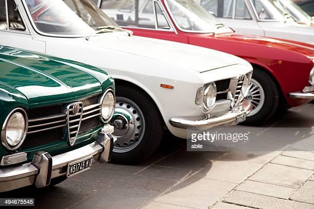 Old Alfa Romeo carros
