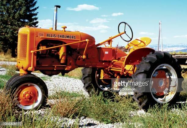 Old Allis Chalmers tractor, Hatch Utah