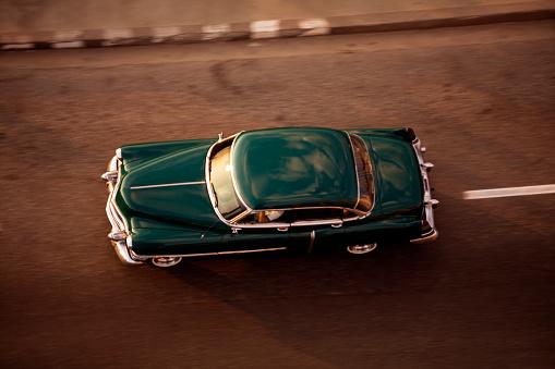 Old American Car, Havana, Cuba - gettyimageskorea