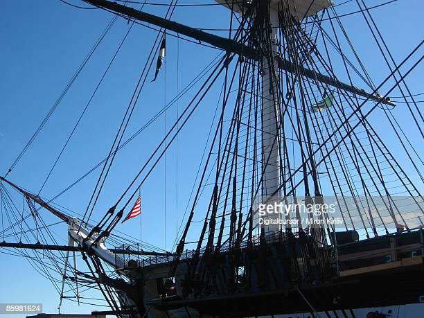 old american ship - old frigate stock photos and pictures