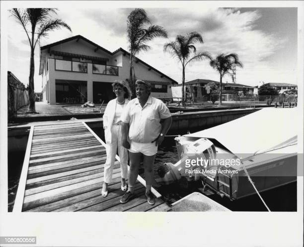Old amp new propertys being developed at the Sylvania Waters estateLyle amp Trish Williams paid $190000 for a 'horrible little house' and spent...