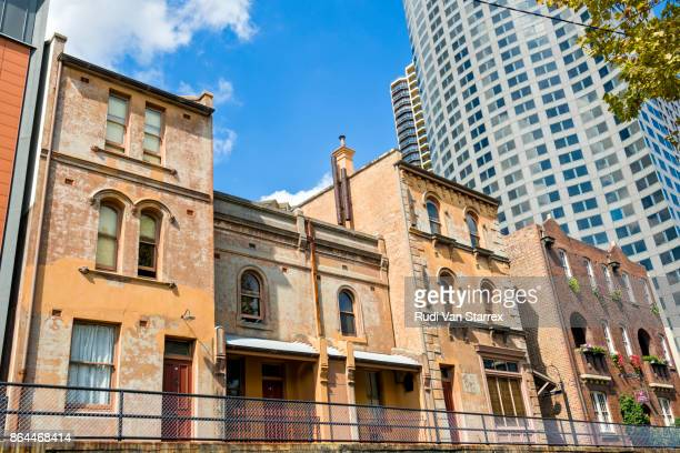 Old and new buildings, The Rocks, Sydney, Australia