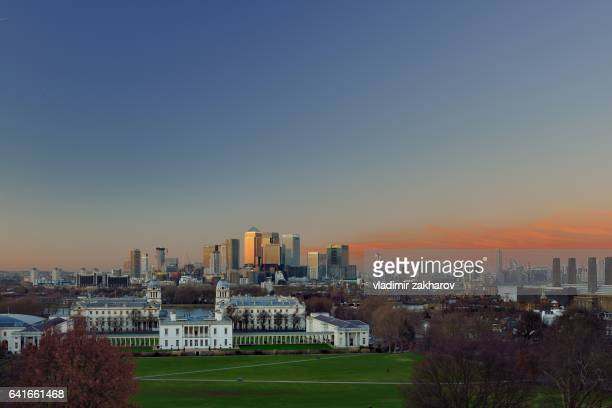 old and new london cityscape view at sunset - 2017 stock pictures, royalty-free photos & images