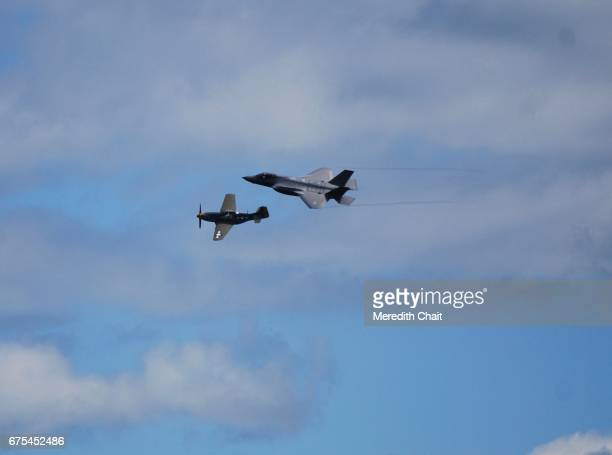 Old and New Military Planes