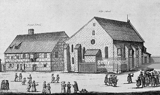 Old and New Synagogue of Furth 1708 Middle Franconia