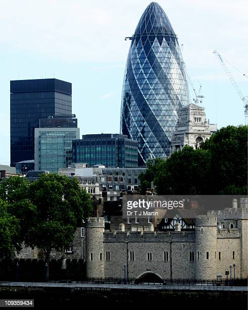 Old and new - The Tower(s) of London