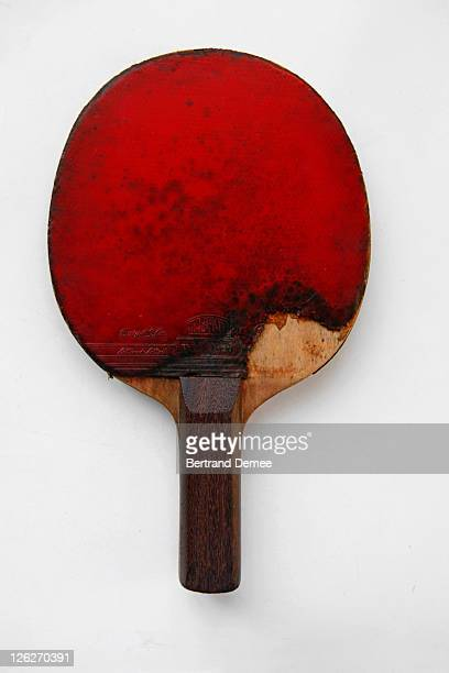 Old and used table tennis bat
