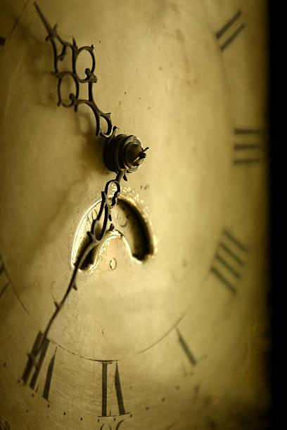old antique clock face sepia toned photos com