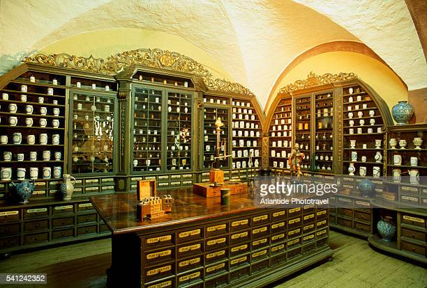 Old Apothecary in Heidelberg Castle
