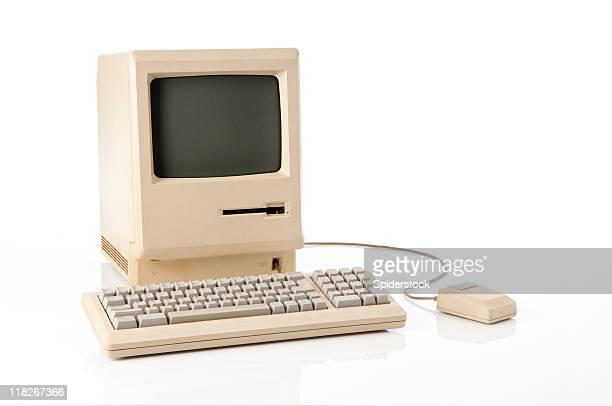 Alte Apple Macintosh klassischen Computer