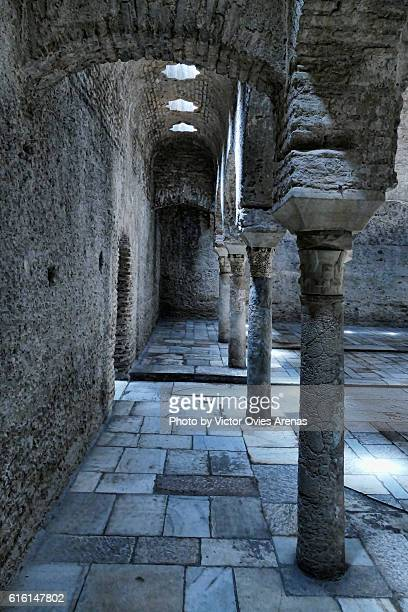 Old Arab Baths, Albaicin, Granada, Spain