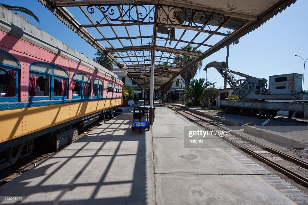 Old Arica-La Paz Railway Station In Arica, Arica And Parinacota Region, Chile : News Photo