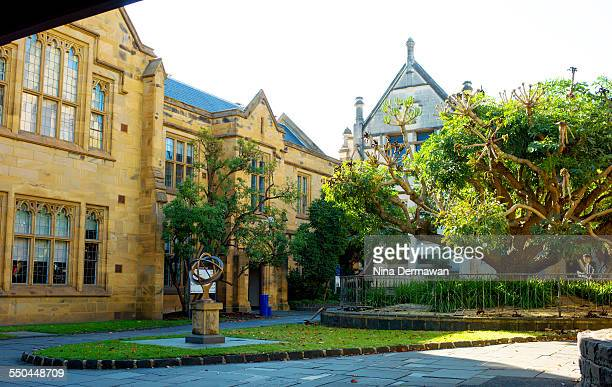 Old Arts Old Physics Buildings University of Melbourne Parkville 12th April 2015