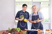old asian man retirement age spending