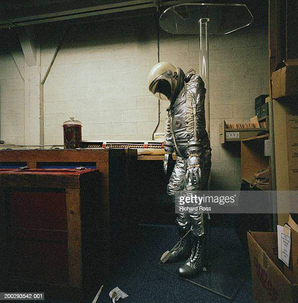 Old Astronaut suit in storage area