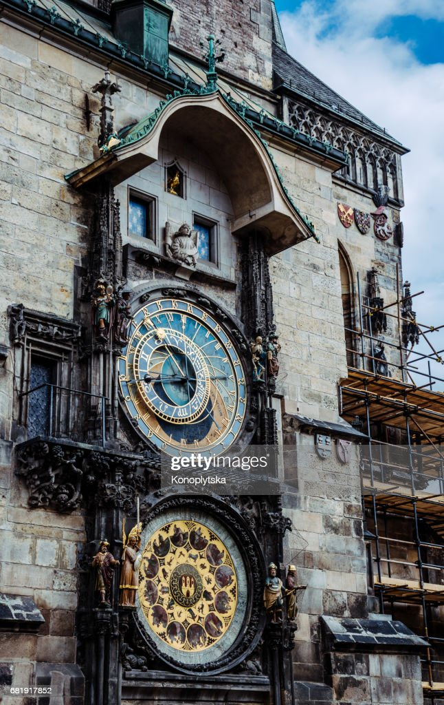Old Astronomical Clock The Symbol Of Prague Stock Photo Getty Images