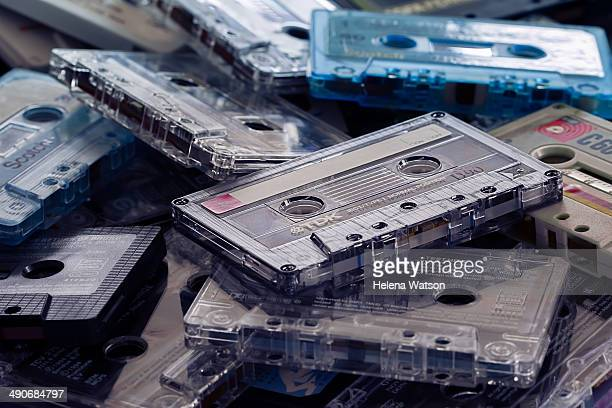 Old Audio Cassette Tapes