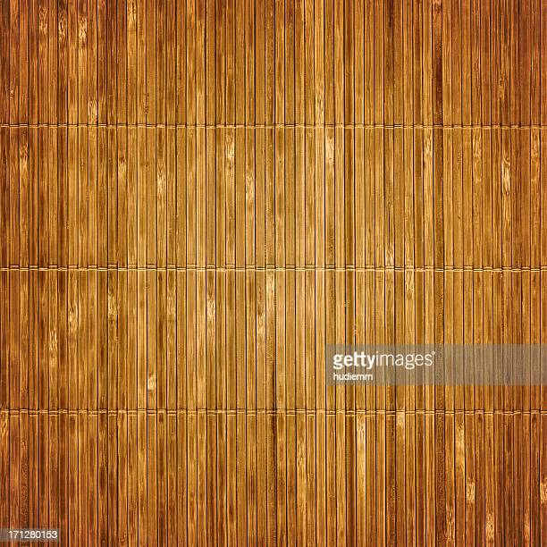 Velho textura de esteira de bambu