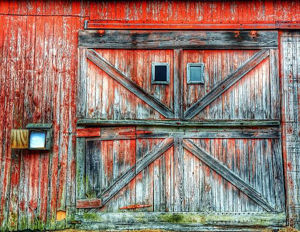 Old Barn Door Wall Art