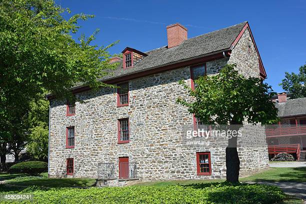 old barracks museum in trenton - trenton new jersey stock photos and pictures