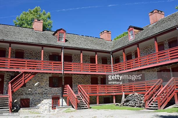 old barracks museum in trenton - barracks stock pictures, royalty-free photos & images