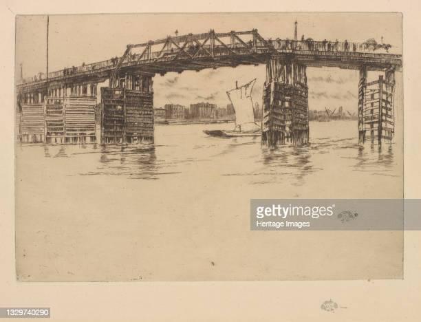 Old Battersea Bridge, 1879. Artist James Abbott McNeill Whistler.