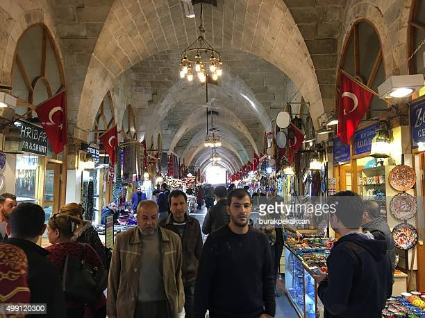 Old Bazaar of the city, Zincirli Bedesten, Gaziantep, Turkey