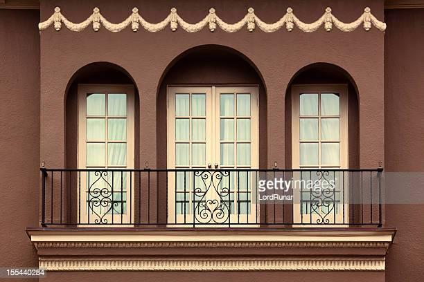 Alte wunderschönen Balkon