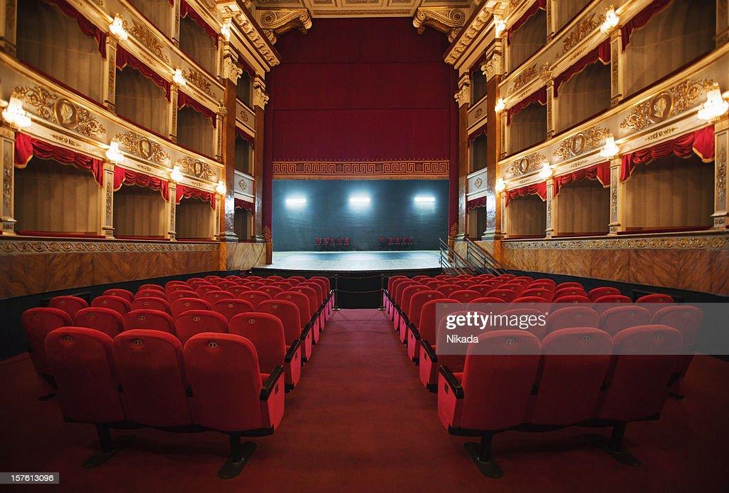 old beautiful theatre : Stock Photo