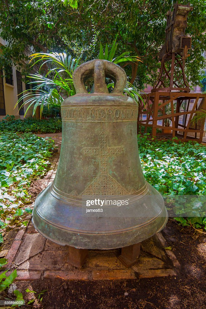 old bell of the cathedral of Malaga, Spain : Stockfoto