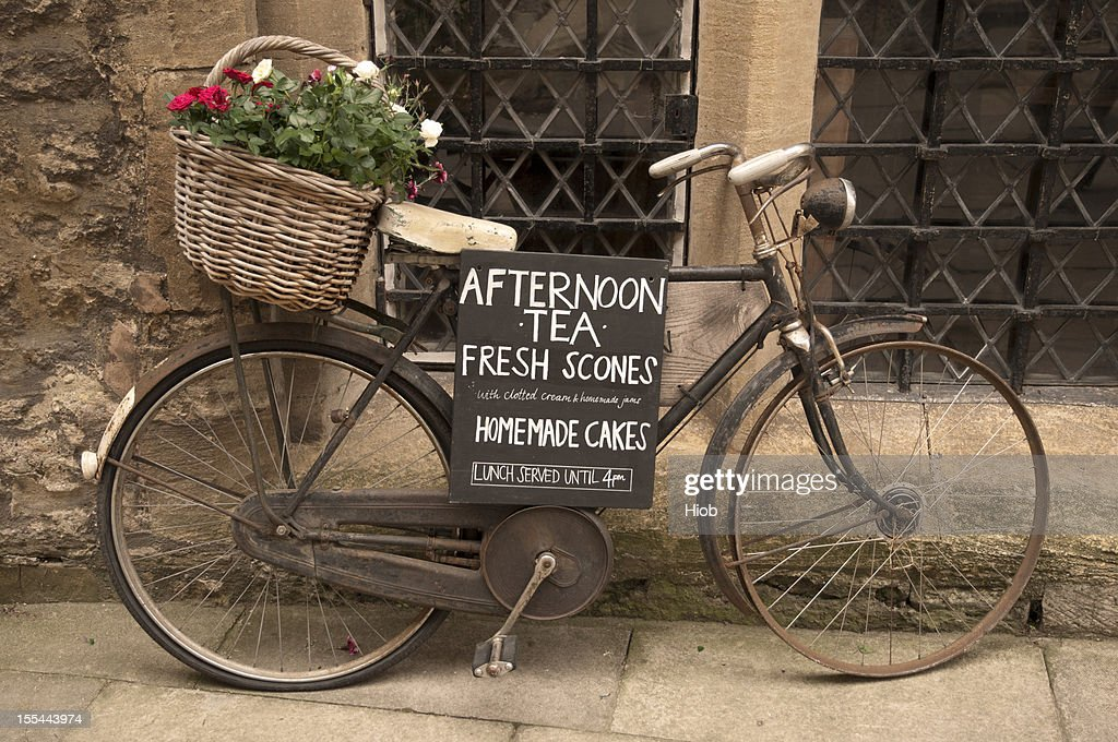 old bicycle : Stock Photo