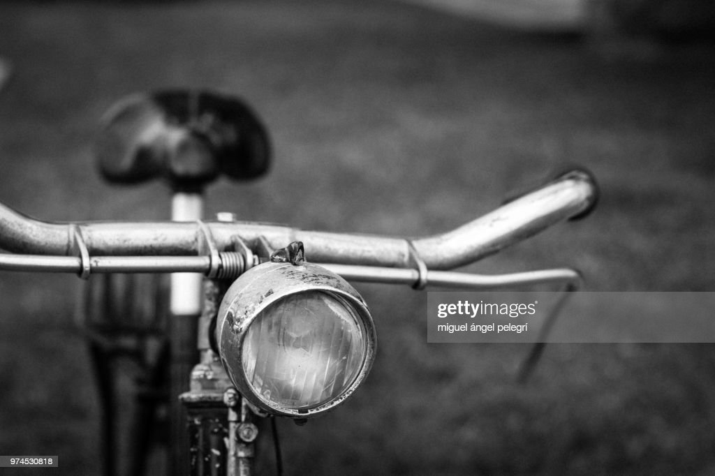 Old Bike Detail Spain Valencia Stock Photo | Getty Images