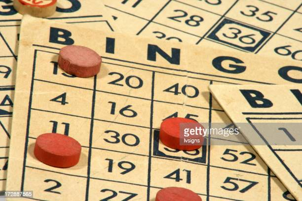 Old Bingo Cards