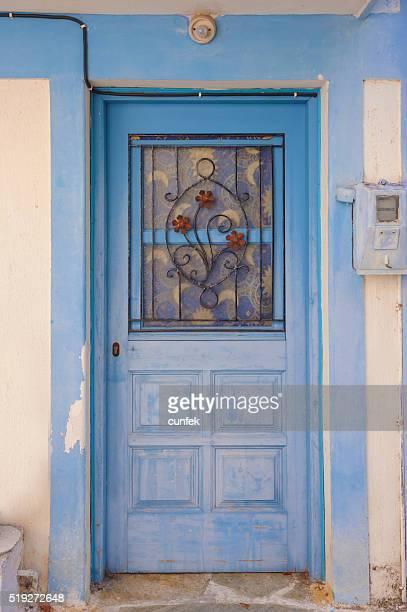 Vecchio blu porte