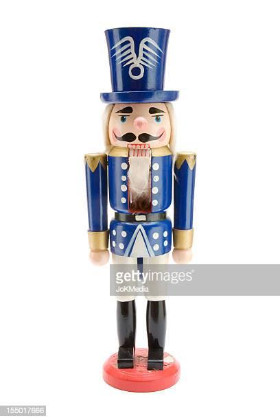 Old Blue Nutcracker Soldier