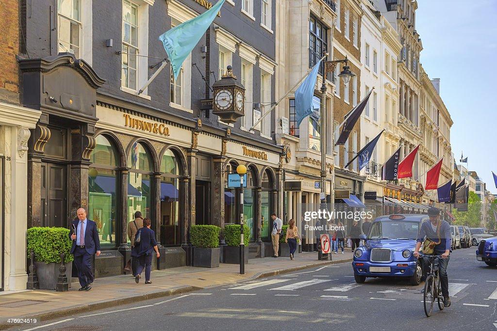 49aad8bf783 Old Bond Street in London s Mayfair area.   Stock Photo
