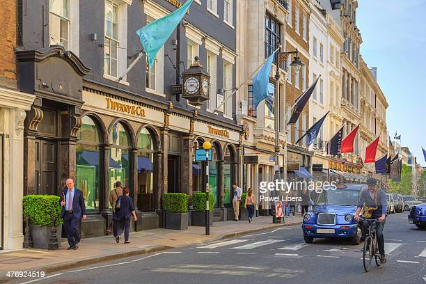 Old Bond Street in London's Mayfair area.