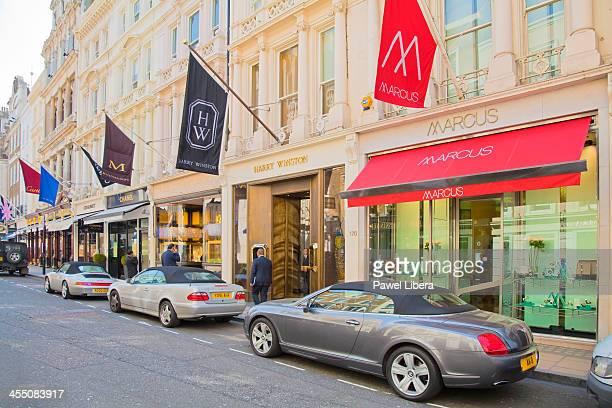 Old Bond Street in London's Mayfair