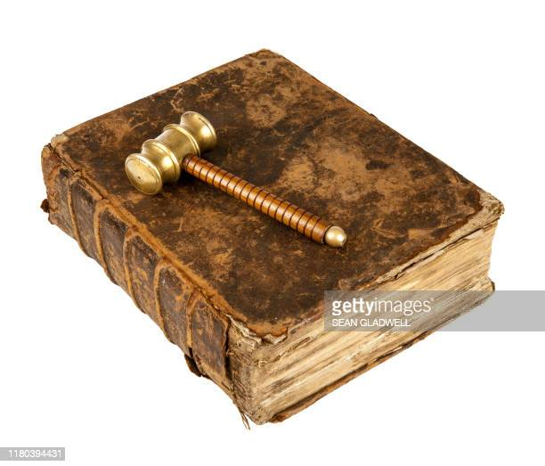 old book and gavel - rules stock pictures, royalty-free photos & images