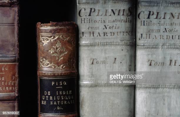 Old books Herbarium Kew Gardens London England United Kingdom