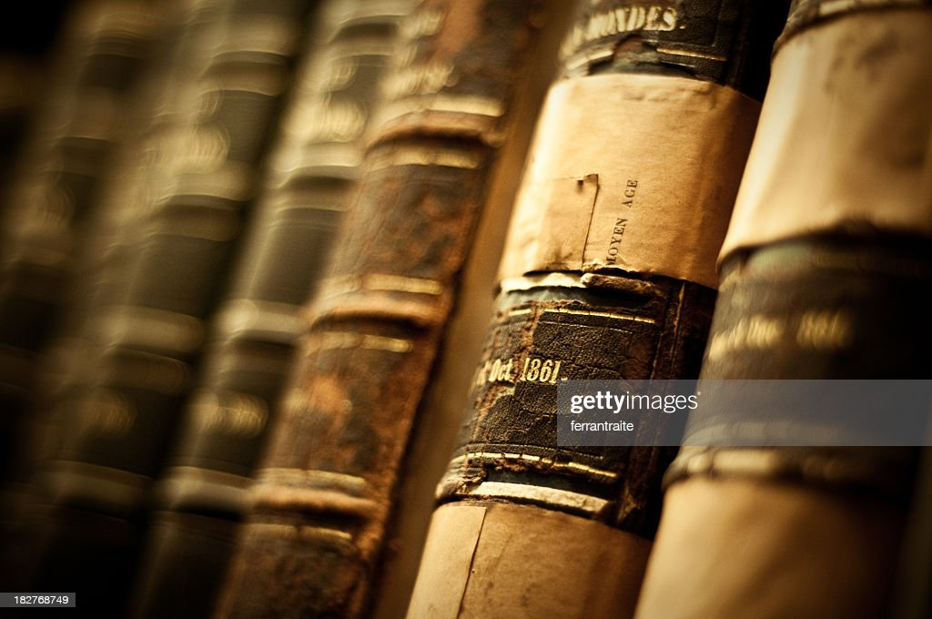 Old books : Stock Photo