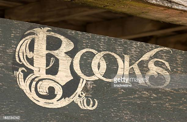 Old Books Sign
