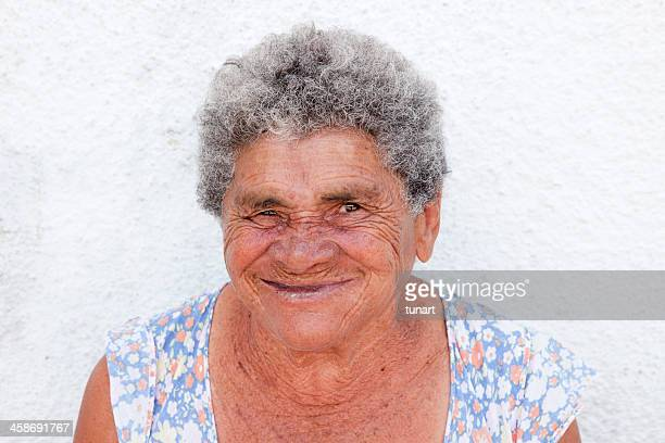 old brazilian woman, fortaleza, brazil - very ugly women stock photos and pictures