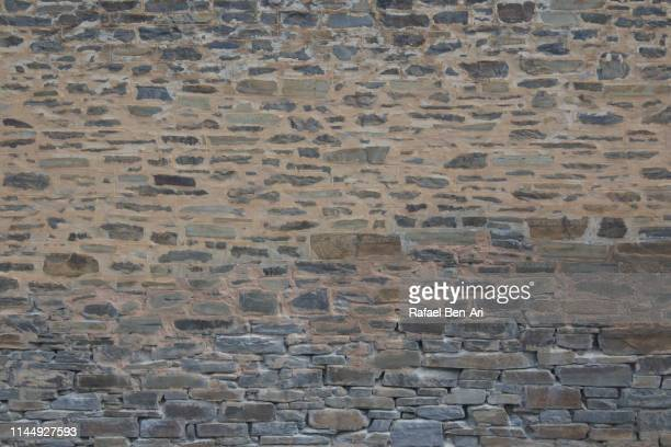 old brick wall background and texture - rafael ben ari stock pictures, royalty-free photos & images