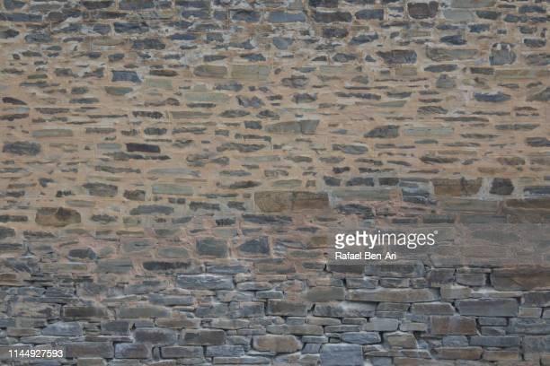 old brick wall background and texture - rafael ben ari 個照片及圖片檔