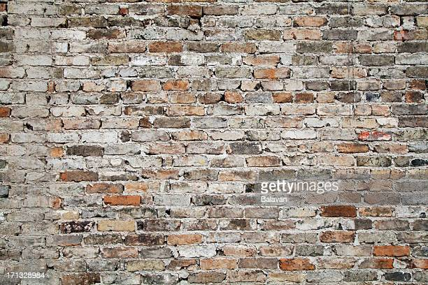 old brick wall background - brick wall stock pictures, royalty-free photos & images