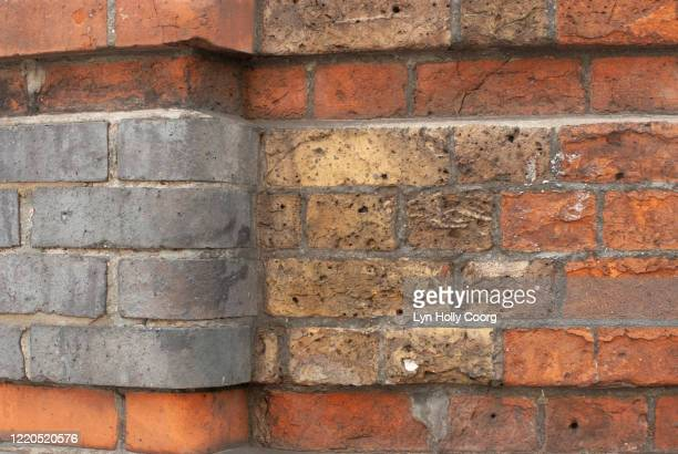 old brick wall - lyn holly coorg stock pictures, royalty-free photos & images