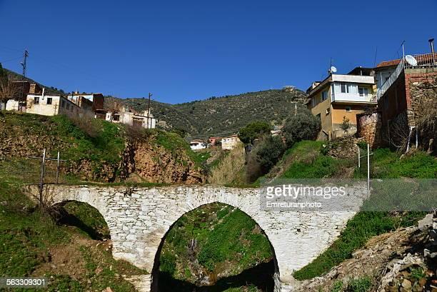 old bridge at bayindir - emreturanphoto stock pictures, royalty-free photos & images