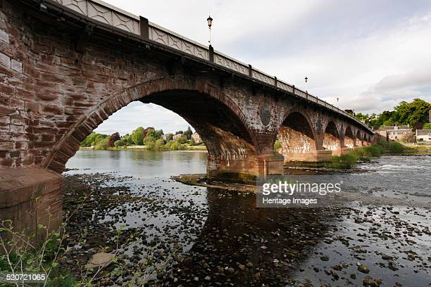 Old Bridge Perth Perth and Kinross Scotland 2010 Completed in 1771 this bridge over the River Tay was built by John Smeaton the engineer who built...